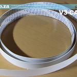 SKU: V3-CAR/L, Long Carriage Data Cable for V-Smart V3-1310 Vinyl Cutter and Shorter Version