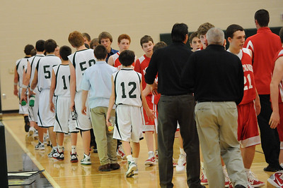 Boys Freshman Basketball - DCG 2010-2011