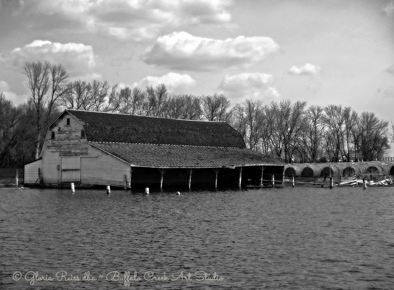 Barn in the Water