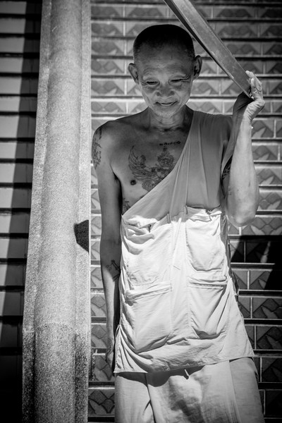 Yet another touching life scene around the Big Buddha Temple of Ko Samui.g