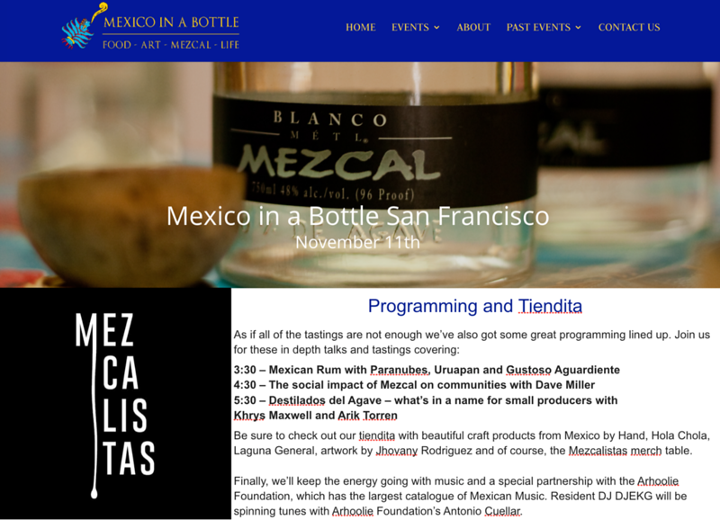 mezcalistas, mezcal in a bottle, Dave Millers Mexico