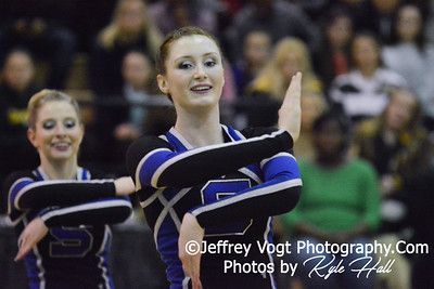 1-31-2015 Sherwood HS Varsity Poms at Northwest HS Invitational, MCPS Championship, Photos by Jeffrey Vogt Photography with Kyle Hall