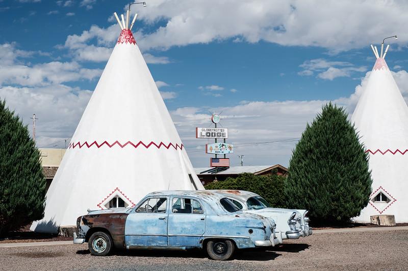 Wigwam Motel in Holbrook, Arizona