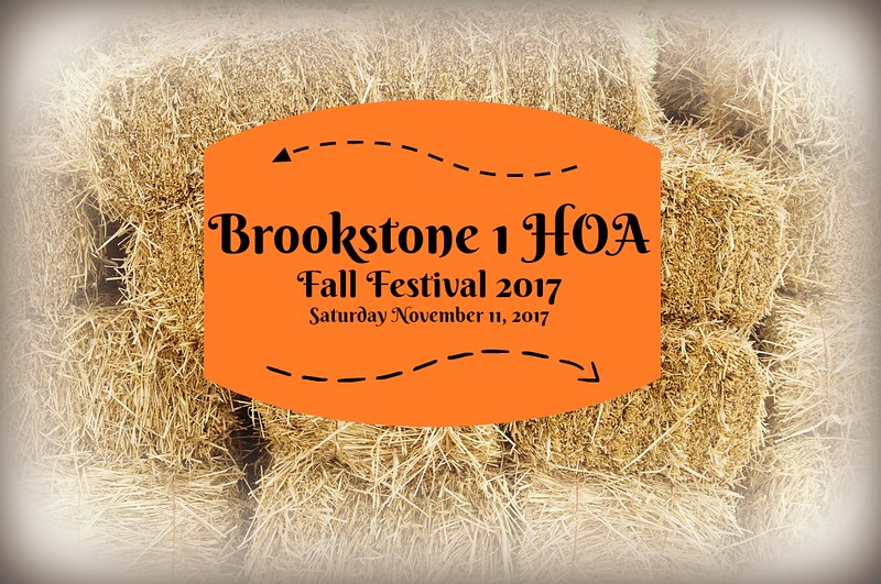 Brookstone 1 HOA Fall Festival