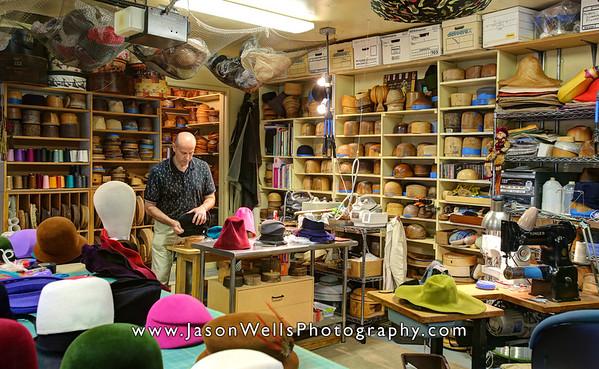 Wayne Wichern Millinery - Studio 2012