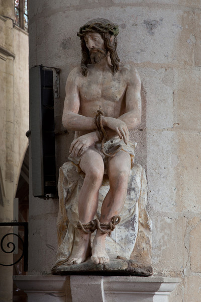 "Bar-sur-Seine, Church of Saint Stephen, Man of Sorrows ""Ecco Homo"""