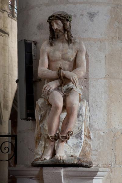 """Bar-sur-Seine, Church of Saint Stephen, Man of Sorrows """"Ecco Homo"""""""