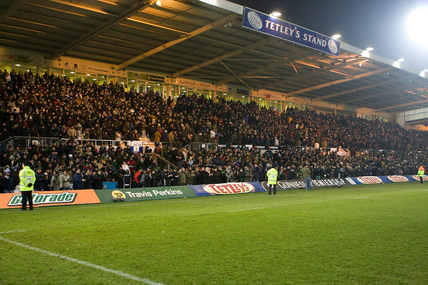 Northampton Saints vs Leicester Tigers, Guinness Premiership, Franklin's Gardens, 10 January 2009