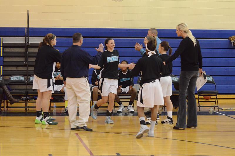 Varsity Girls Basketball Dec 17 vs Elkton