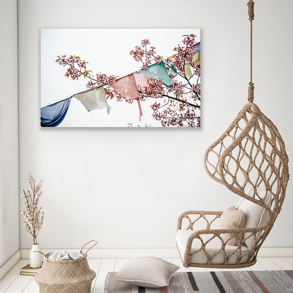 'Into the Wind' Canvas Wrap
