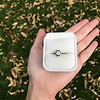.90ct Late Victorian Antique Cushion Cut Collet Component 9