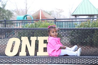 Riley Anita Rose 1st Birthday
