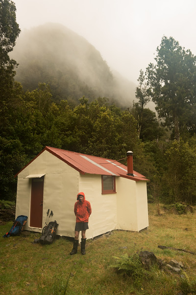 Elizabeth Hut for morning tea.
