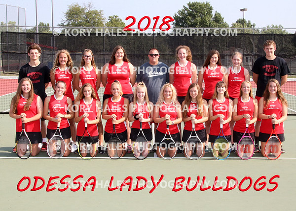 2018 OHS Girls Tennis
