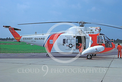 US Coast Guard Sikorsky HH-52 Military Helicopter Pictures