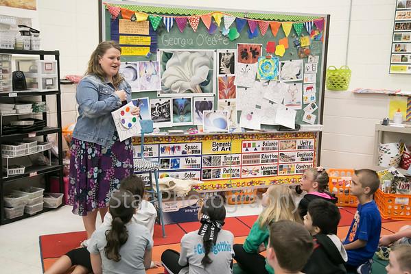 Teacher of the Year - Julie Harris 04-20-15