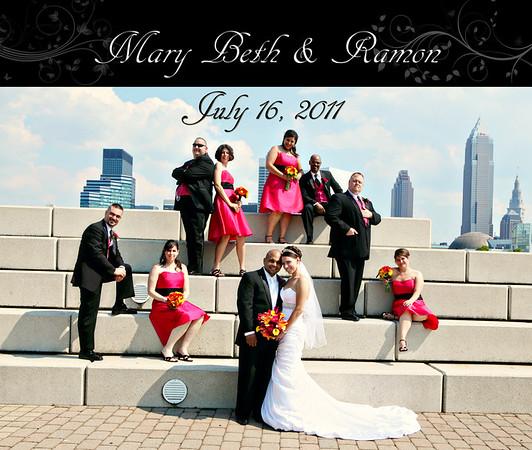 Mary Beth & Ramon 13x11 Wedding Album