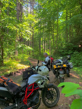 Camping in Tellico Plains May 2019