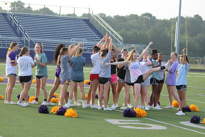 Scenes from CHS Roughrider Cheerleader Practice on Friday, Aug. 9, 2019