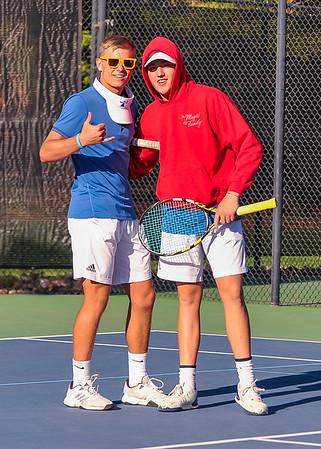 2018 Region 9 Boys Tennis Tournament -- 1st Doubles