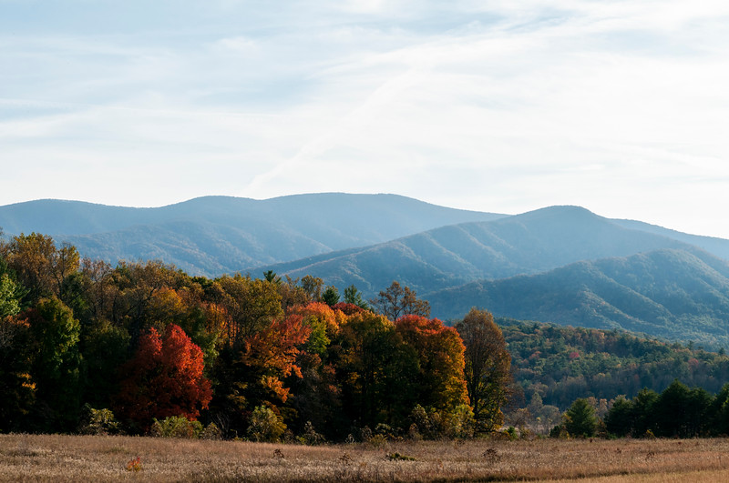 Cades Cove at the Great Smoky Mountains National Park