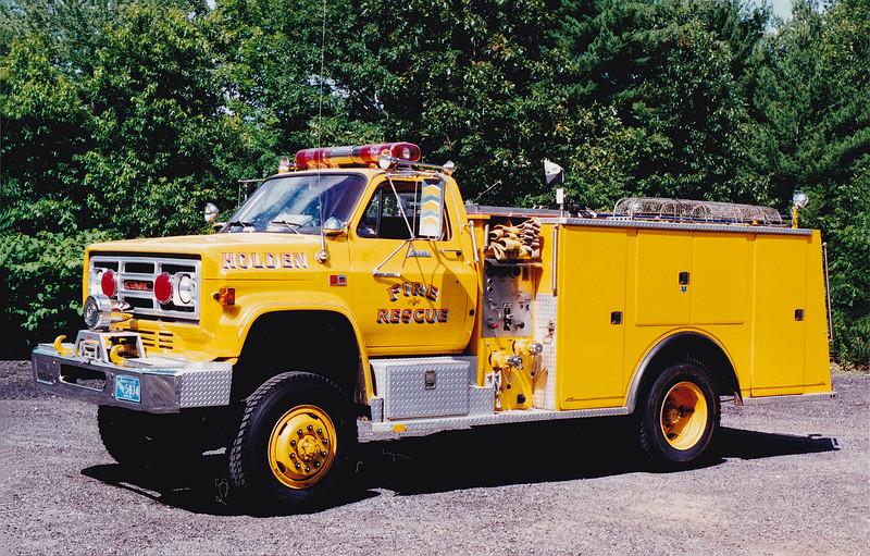 Retired Rescue 1.  1986 GMC / Farrar.  750 / 500