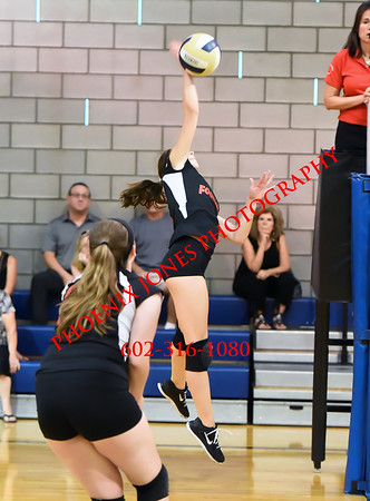 9-7-2016 - Paradise Valley Christian Prep (PVCP) v Foothills Academy Volleyball Match