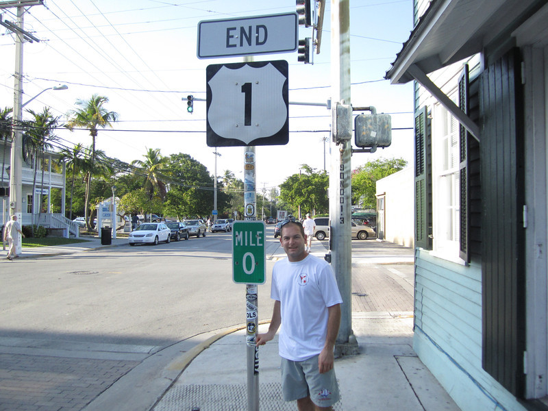 Jon Deutsch at the very end of US 1 right near our condo