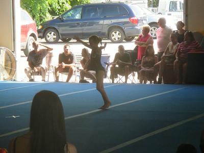 Avery's Gymnastics Show 2014