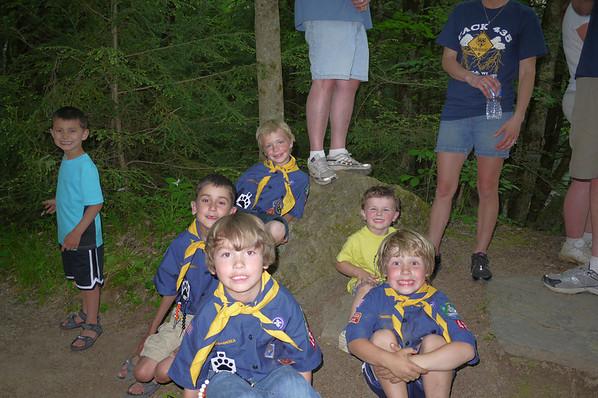 Cub Scouts - Spring Camp - 2012 - EauClair Dells