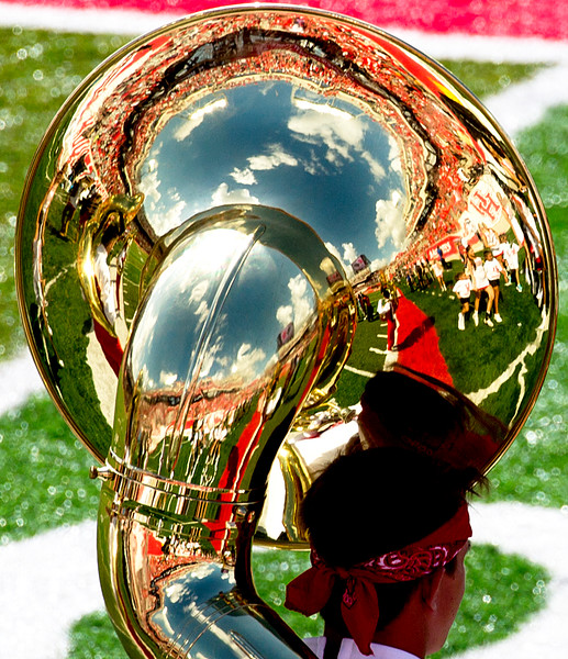 On to halftime.   I love those tuba bells.