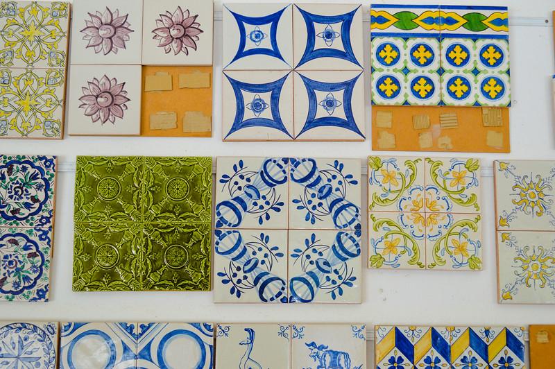 Beautiful tiles- all handpainted
