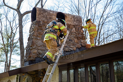 Glastonbury, Ct Chimney fire 2/21/20