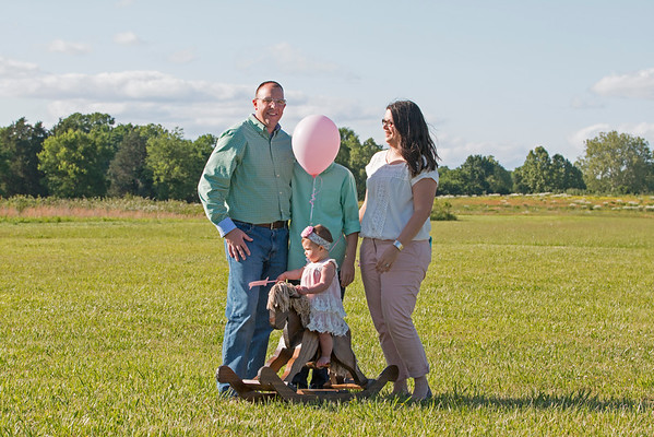 Budd Family Sophia 1 year