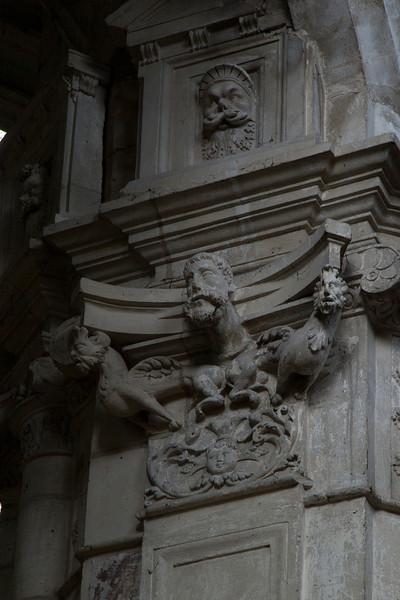 Gisors, Saint-Gervais-Saint-Protais Church Capital Relief
