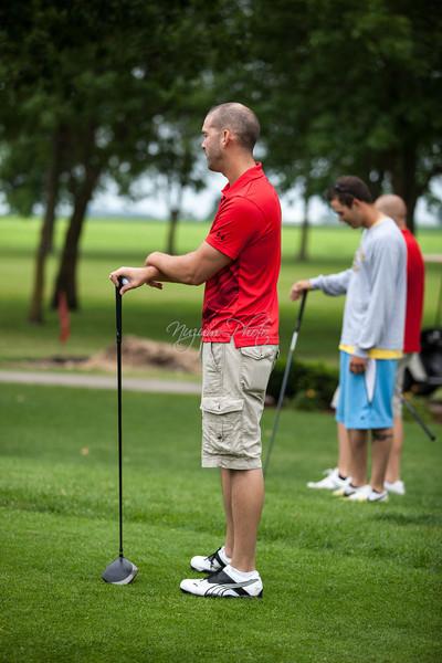 Golfing - Kellie and Jeremy
