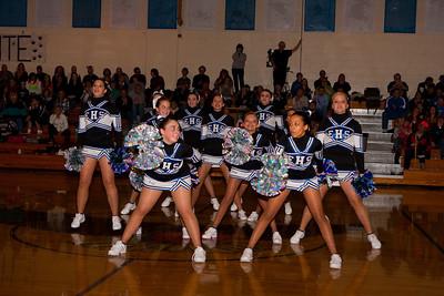 Elma HS dance team, February 4, 2010