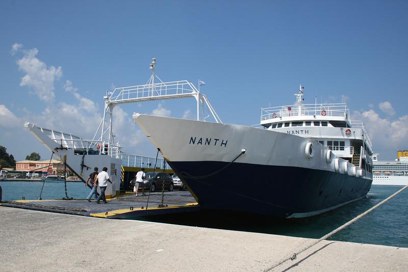 2009 - F/B NANTI in Corfu.