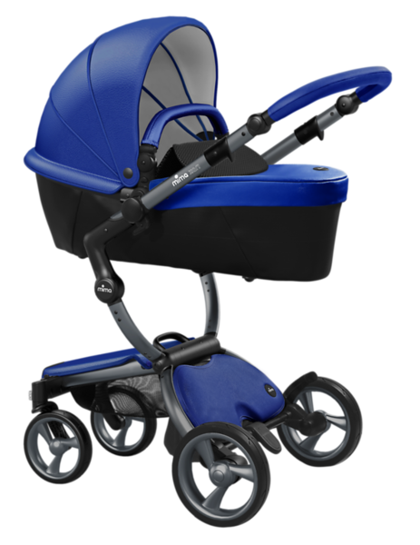 Mima_Xari_Product_Shot_Royal_Blue_Graphite_Chassis_Black_Carrycot.png