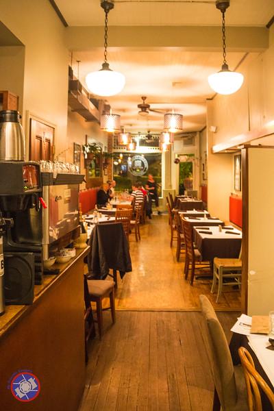 Main Dining Room at the Union Block Italian Bistro in Hammondsport, NY (©simon@myeclecticimages.com)