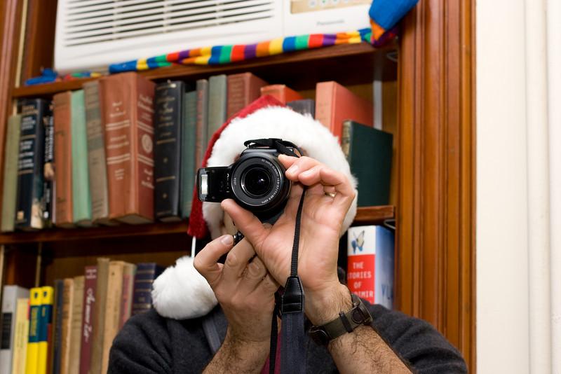 Niranjan taking a photo.