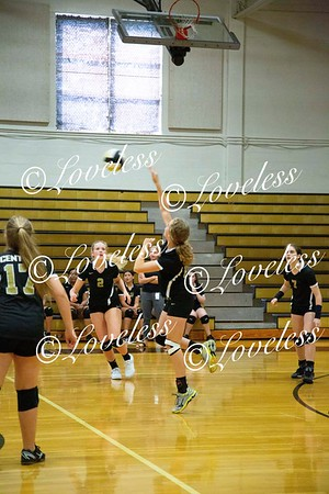MS Volleyball vs Oakland  8/20/19