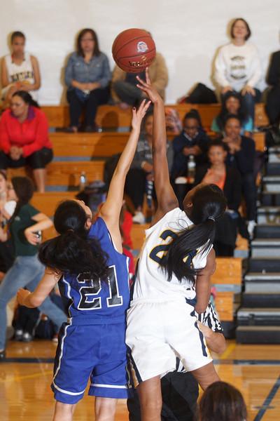RCS Girls' Varsity Basketball vs Bentley - Jan 25, 2013