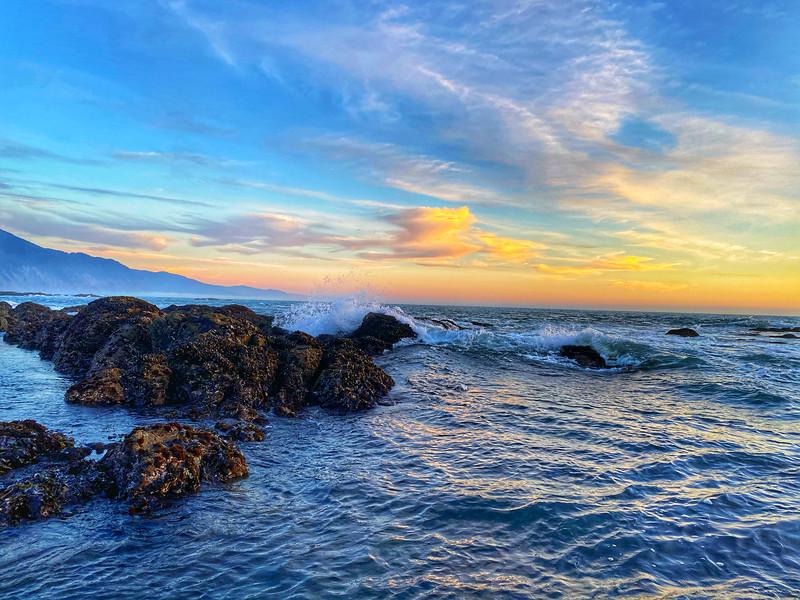 Sunset Shelter Cove, California