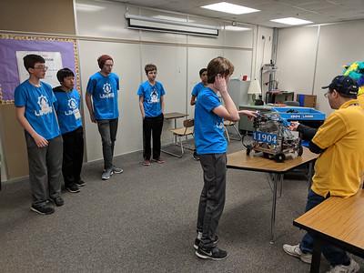 2018 Jan - Robotics Tournament