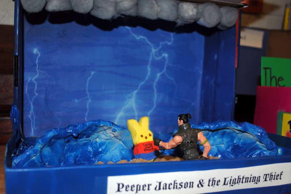 ". \""Peeper Jackson and the Lightning Thief\"""