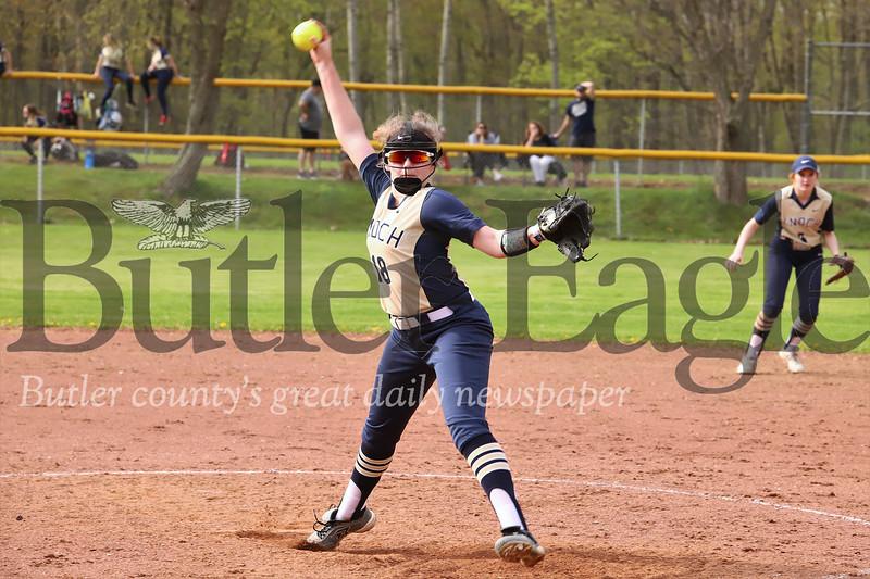 Knoch pitcher #18. Seb Foltz/Butler Eagle