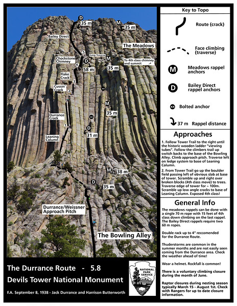 Devils Tower National Monument (Durance Route)