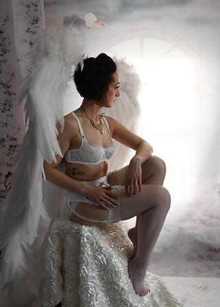 Victoria Secret Angel White Wings