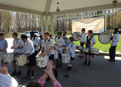 Drumline Performs for Nursing Home Week (5.11.16)